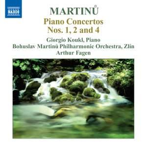 Martinu: Piano Concertos Volume 2