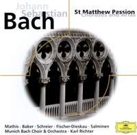 JS Bach: Choruses and arias from St Matthew Passion