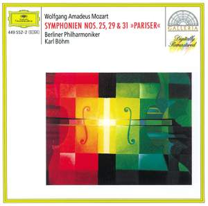 Mozart: Symphonies Nos. 25, 29 and 31 Product Image