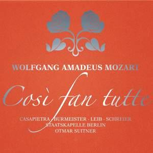 Mozart: Così fan tutte, K588