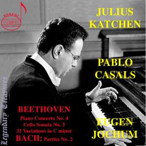 Julius Katchen: Live Performances of Beethoven and Bach