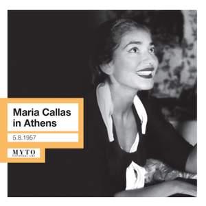 Maria Callas in Athens