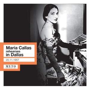 Maria Callas rehearses in Dallas