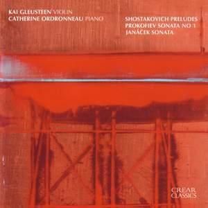 Janacek, Shostakovich and Prokofiev: Works for Violin and Piano