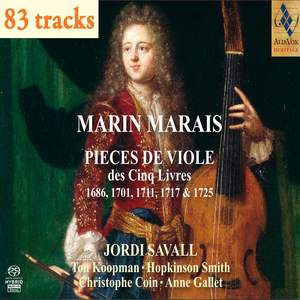 Marin Marais: Pieces for Viol from the Five Books Product Image