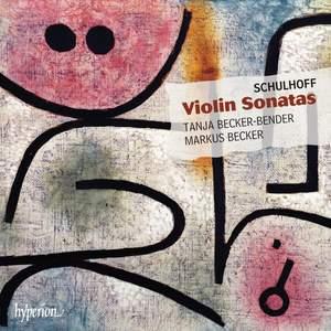 Erwin Schulhoff: Violin Sonatas