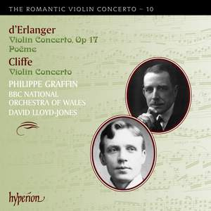 The Romantic Violin Concerto 10 - Cliffe & Erlanger