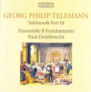 Telemann: Tafelmusik III Product Image