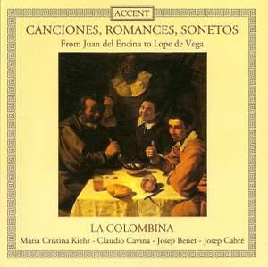 Canciones, Romances, Sonetos