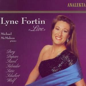 Lyne Fortin Live