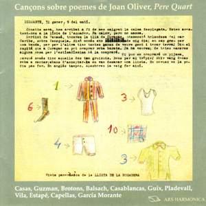 Cancons sobre poemes de Joan Oliver (Pere Quart)