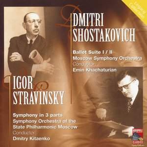 Shostakovich: Ballet Suites Nos. 1 & 2