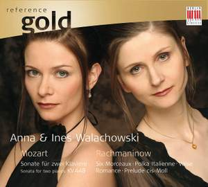 Mozart & Rachmaninov: Works for Two Pianos