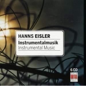 Hanns Eisler: Instrumental Music