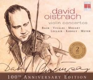 David Oistrach - Violin Concertos