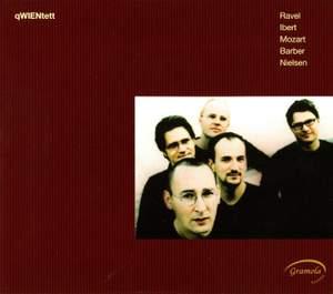 Ravel, Ibert, Mozart, Barber & Nielsen: Works for Wind Quintet