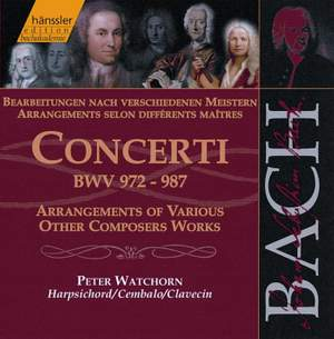 J S Bach: Concerti BWV 972-987
