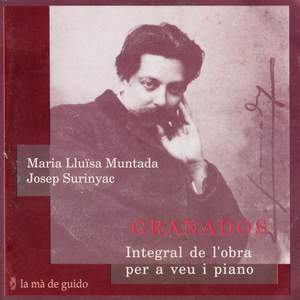Granados: Complete Works for Voice & Piano