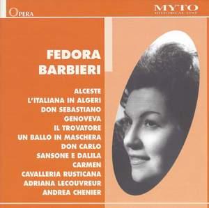 Fedora Barbieri in Recital