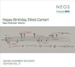 Happy Birthday, Elliott Carter!