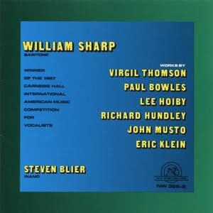 William Sharp in Recital