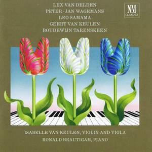 Van Delden/Wagemans/Samama/Van Keulen/Tarenskeen: Sonate per violino e pianoforte op. 82/Great Expec