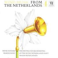 Ketting/Boekel/Scheffer/Vlak/Lijnschooten/Badings: Wind Music from the Netherlands 4