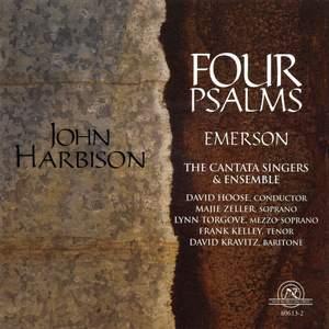 John Harbison: Four Psalms Product Image