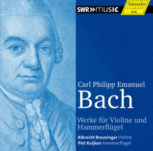 CPE Bach: Works for Violin and Pianoforte Product Image