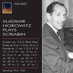 Vladimir Horowitz plays Alexander Scriabin