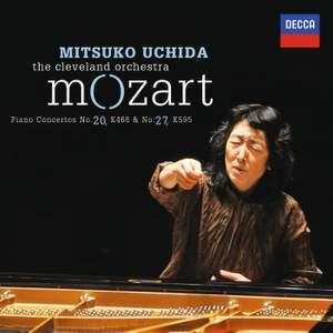 Mozart: Piano Concertos Nos. 20 & 27 Product Image