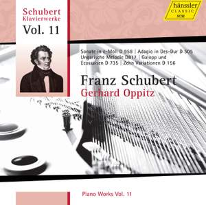 Schubert - Piano Works Volume 11