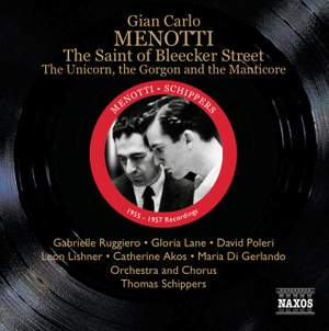 Menotti: The Saint of Bleecker Street
