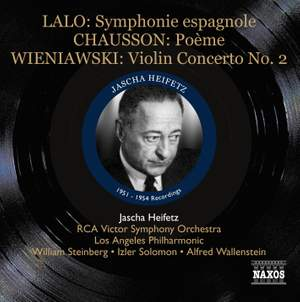 Jascha Heifetz: 1951-1954 Recordings