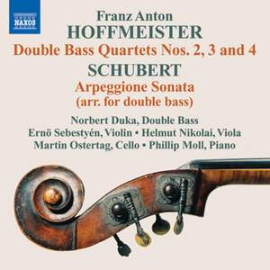 Hoffmeister: Double Bass Quartets Nos. 2, 3 & 4 Product Image