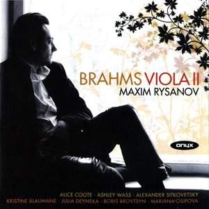 Brahms Works for Viola II