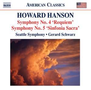 Howard Hanson: Symphonies Nos. 4 & 5 Product Image