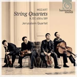 Mozart: String Quartets Nos. 4, 17 & 22