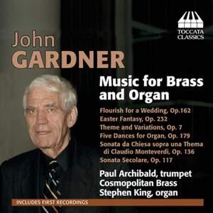 John Gardner: Music for Brass and Organ Product Image