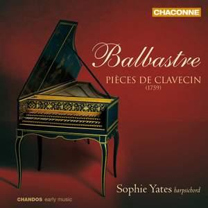 Balbastre: Pièces de clavecin (1759)