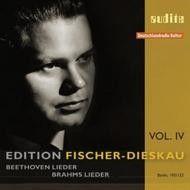 Edition Fischer-Dieskau Vol. 4 - Beethoven & Brahms Lieder