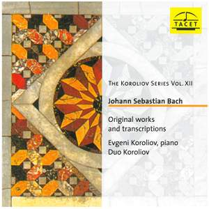 JS Bach Original works and transcriptions