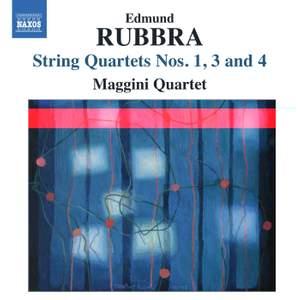 Rubbra: String Quartets Volume 2