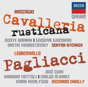 Mascagni: Cavalleria Rusticana & Leoncavallo: Pagliacci Product Image