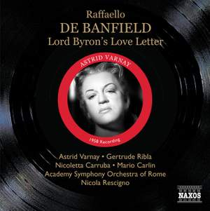 Banfield, R: Lord Byron's Love Letter