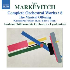 Markevitch - Complete Orchestral Works Volume 8