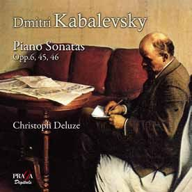 Kabalevsky: Piano Sonatas Nos. 1-3