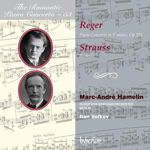 The Romantic Piano Concerto 53 - Reger & Strauss Product Image