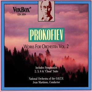Prokofiev: Works for Orchestra, Vol. 2