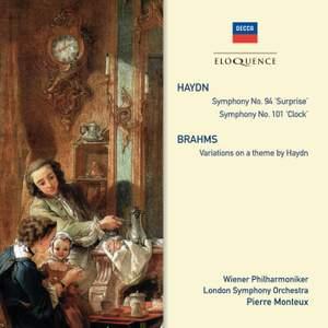 Pierre Monteux conducts Haydn & Brahms